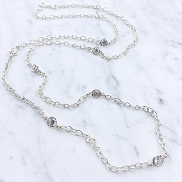 Sofia Necklace Crystal