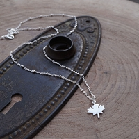 Maple Leaf Forever Necklace