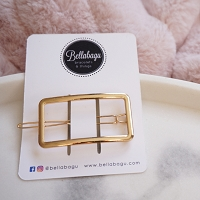 Gold Rectangle Clip