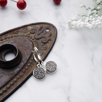 Isla Earrings Grey