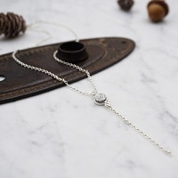Olive Necklace Druzy