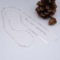 Ondrea Long Adjustable Bar Necklace