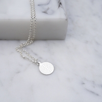 Bella Snakeskin Tag Necklace